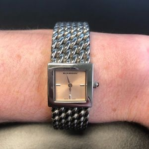 Burberry Stainless Steel Watch Bracelet